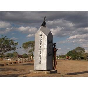 Town sculpture