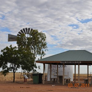 Hamilton Hotel camp area