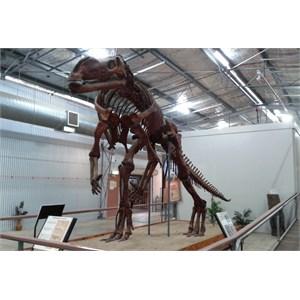 Dinosaur at Hughenden Information Centre