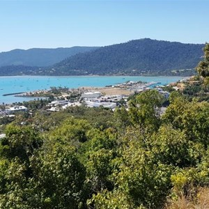 Airlie Beach and port of Airlie Beach