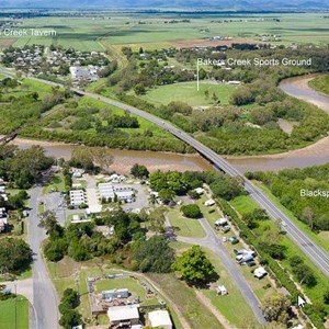 Bakers Creek from above