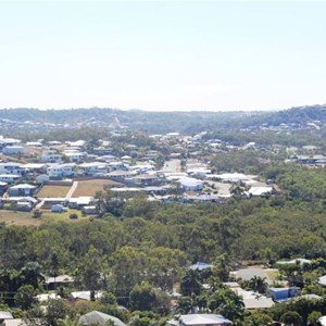 View of Yeppoon suburbs