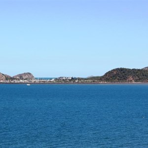 Roslyn Bay Harbour from Wreck Point