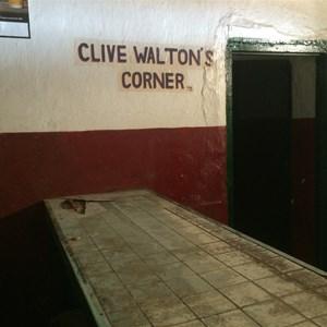 Clive Waltons Corner inside the Betoota Hotel
