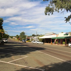The main street of Taroom is the highway.