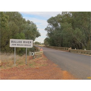 Bridge over Bulloo River