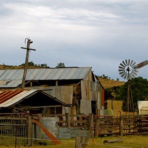 The old hay shed near Toogoolawah