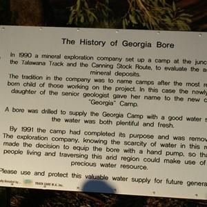 Georgia Bore History
