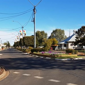 The main street of Cunnamulla