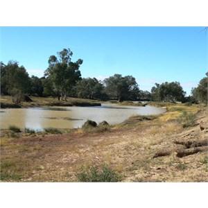Waterhole near Wills memorial