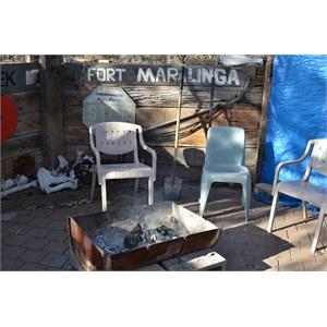 BBQ area at Maralinga