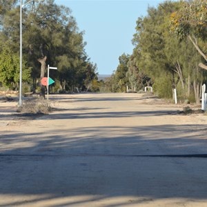 Main Road into Maralinga