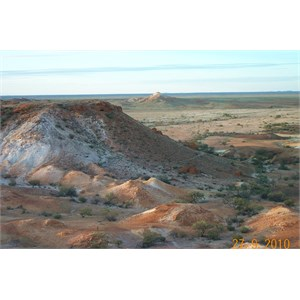 The Breakaways outside Coober Pedy