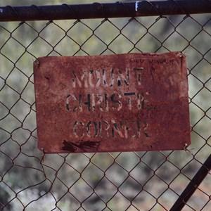 Mount Christie Corner