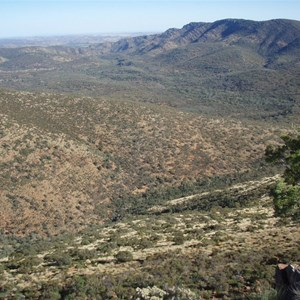 View from North Tusk Hill