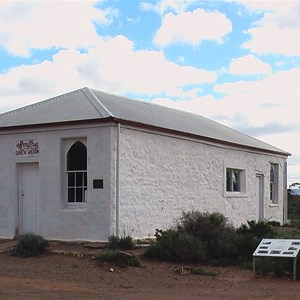Rev John Flyn's Beltana church
