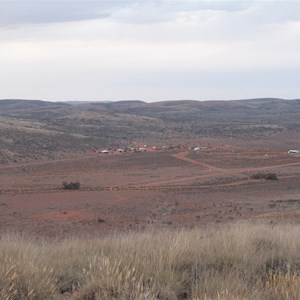 Homestead from mountain Sept 2012