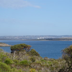 View west to Port Lincoln