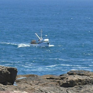 Cray Boat working off Cape Carnot