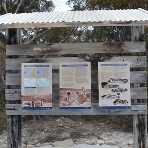 Entering Inneston Historic Site