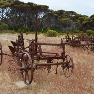 Old Farming Machinery