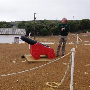 Cape Borda Canon Firing
