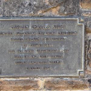 Captain Charles Sturt Memorial - Truro