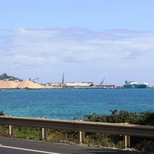 The Port of Burnie viewed from South Burnie