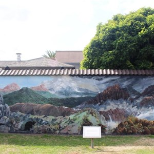 Mural of Cradle Mountain