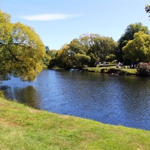 Park and the Meander River in Deloraine