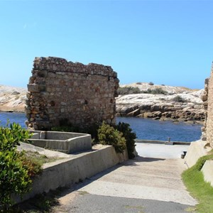 Ruins at the Bicheno harbour