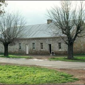 The Barracks where detachments of soldiers from a number of famous British regiments once lived and guarded convicts