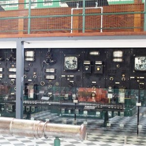The control panel in Waddamana A
