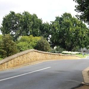 The roadway over the Richmond Bridge
