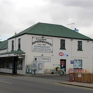 The grocery store in an original building