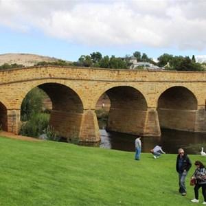 Richmond Bridge, built in 1823
