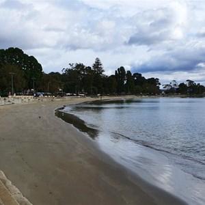 Little Sandy Bay beach