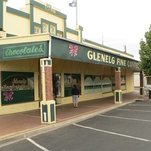 Chocolate factory - was main grocery.