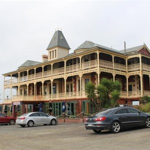 The Grand Pacific Hotel at Lorne