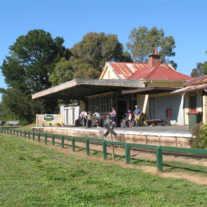 Old station on the rail trail