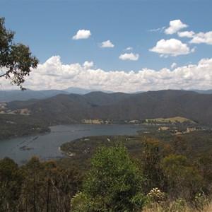 View over Lake Eildon