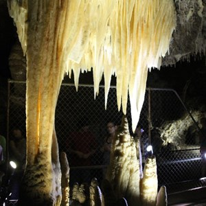 Amazing formations within the Buchan Caves
