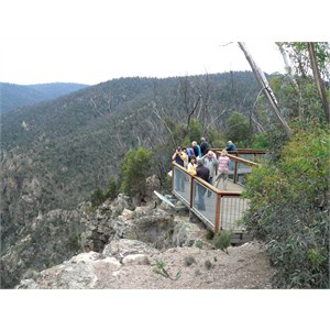 Lookout at Little River Gorge