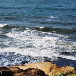 Breakers off Bells Beach