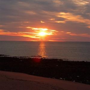 Sun set over Bells Point