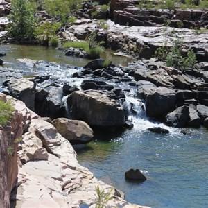 Lower gorge cascades