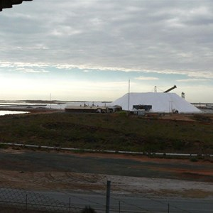 Salt production at Port Hedland