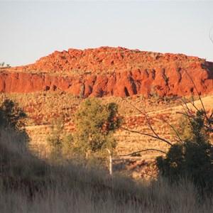 Miles Ridge from DQB campsite