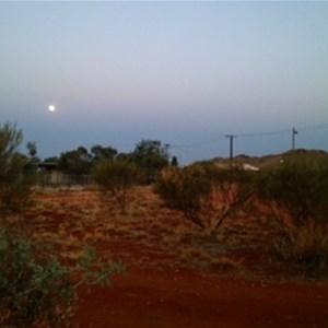 Moon over Parnngurr