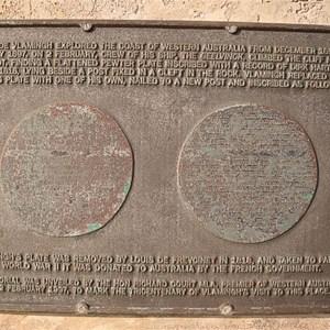 Cape Inscription Plaque